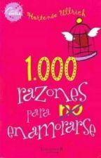 1000 razones para (NO) enamorarse by summergirlLizz99