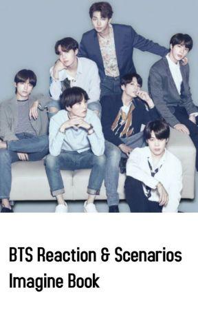 BTS Reactions & Scenarios Imagine Book by jalissa_4life