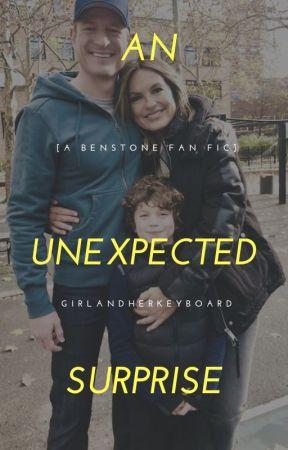 An Unexpected Surprise [A Benstone Fan Fic] by GirlandHerKeyboard