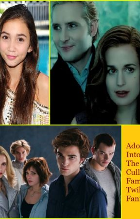 Adopted Into The Cullen Family: Twilight Fanfic by BiancaEvans2
