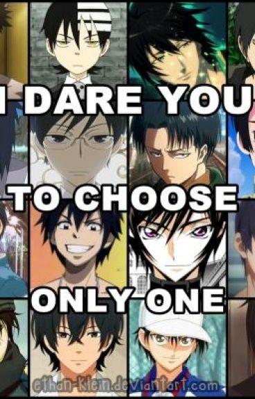 Various Anime Guys x Reader