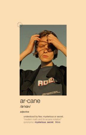 ar•cane by YellGogh