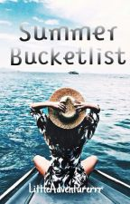 Summer Bucketlist by LittleAdventurerrr