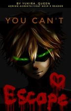 ~You Can't Escape~ [Yandere! Adrien Agreste/Chat Noir x Reader] by Rey_Shikawa