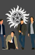 Oof (Supernatural group-chat)  by gabrielsmessyhair