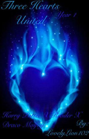 Three Hearts United (Harry Potter x Reader x Draco Malfoy) °Read