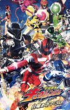 Uchuu Sentai Kyuranger(REWRITE) by UltitheNerdGirl