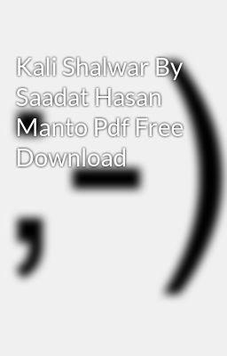 Saadat Hasan Manto Short Stories In Urdu Pdf