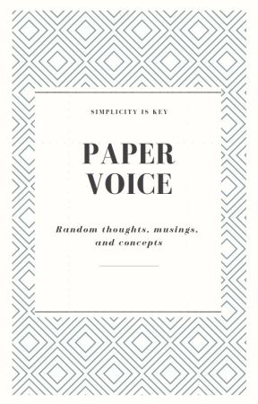 Paper Voice by Tieg2001