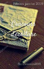Concours d'écriture [FERMÉ AUX INSCRIPTIONS] by Concours2019