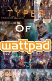 Types of WattPad Users by CKJ664