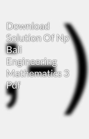 Np Bali Mathematics Pdf