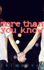 MORE THAN YOU KNOW (a HunHan novella) by ShimMikee