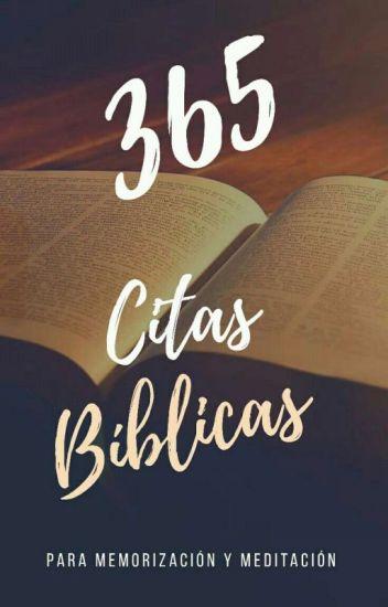 365 Citas Bíblicas V Wattpad