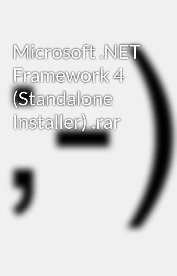 dotnet 4 standalone download