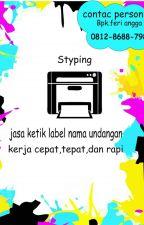 GA RIBET !!,+62812-8688-7982 Jasa Ketik Label Undangan  Bandung by jasaketiklabelerry22