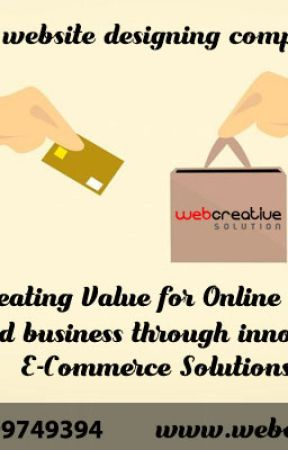 Ecommerce website designing company in Delhi by wcsolution