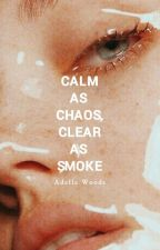 calm as chaos, clear as smoke by adellewoods