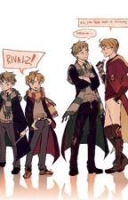 A magical love? ~UsUk hogwarts au~ by Amerika_love