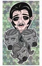 A Man and his Ghouls by MeidoKeiko