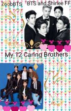 My 7 extremely overprotective brothers by ZoobBTS