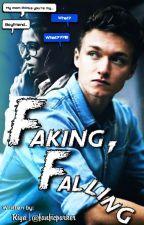 Falling...   Reader x Harrison Osterfield  by fanficparker