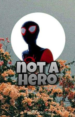 not a hero • miles morales  by gankelee