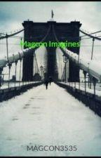 Magcon Imagines by pianobrendon