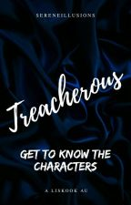 Treacherous Characters Book by Sereneillusions