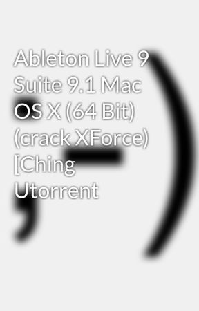 ableton live 9 suite mac crack