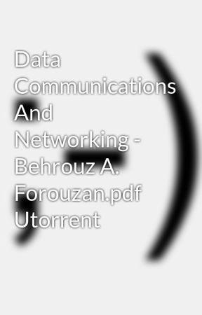 Communication forouzan data pdf networking