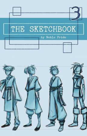 The Sketchbook #3 | 2019 by Books_andGlasses
