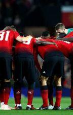 Manchester  United - footballer imagines. by sometimesimacat