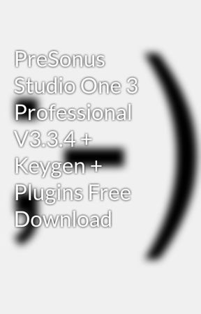 studio one 4 keygen indir