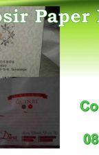 WA 0852 2113 2799, Tas Kertas Batik Bener by GrosirPaperBagMurah