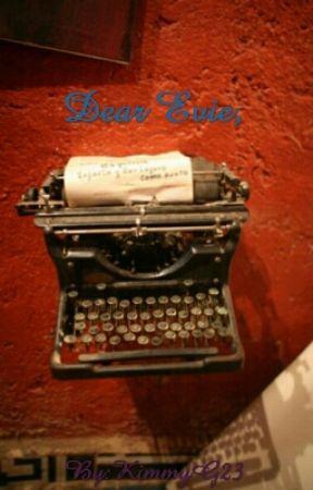 Dear Evie, by KimmyG23