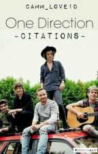 One Direction ~Citations~ by CamM_Love1D