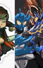 Kamen Rider cross z/ graphite x fairy tail by datguyjax