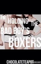I'm holding the bad boy's boxers by chocolateteapot