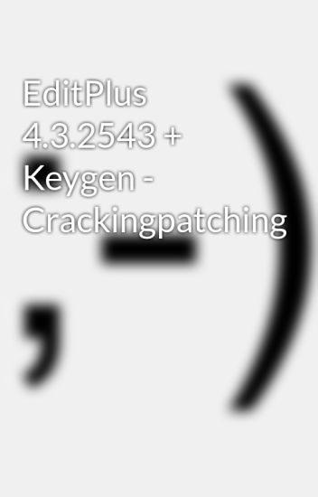 editplus keygen