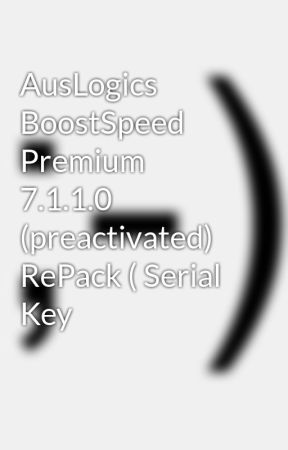 auslogics boostspeed 7 premium key