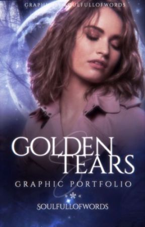 Golden Tears | Graphic Portfolio by soulfullofwords