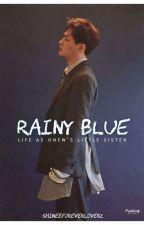 Rainy Blue ft SHINee's Onew by shineeforeverloverz