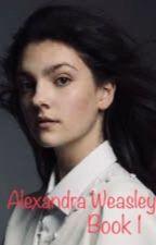 Alexandra Weasley by LivingTheDeadLife