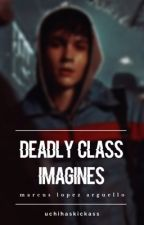 deadly class imagines ━  marcus lopez arguello by uchihaskickass
