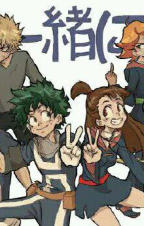 The Little Witch //(My Hero Academia X Reader) // - chapter