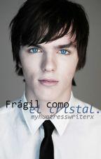 Frágil como el cristal. -Skins mini relato- /EffyTony/ by creoquealba