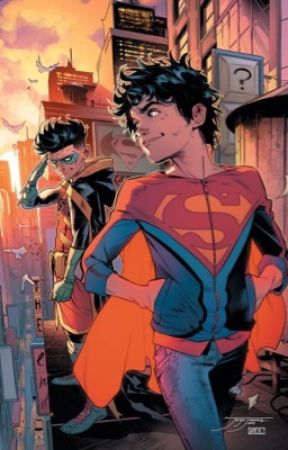 Superman's daughter (Damian Wayne fanfic) by z_4244