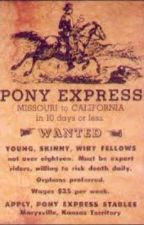 The pony express girl  by EquineLilly