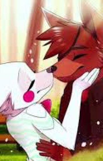 Foxy x Mangle- The highschool years